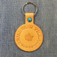 新プログラム「革のキーホルダー」