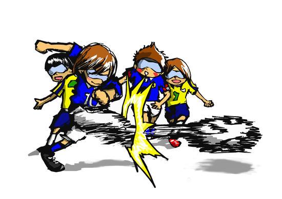 ブラインドサッカーをやってみよう!