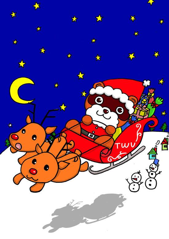 クリスマスオリエンテーリング「たぬきちサンタを助けよう!」