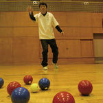 No.99 ペタンク(室内用) ~投げるカーリング~