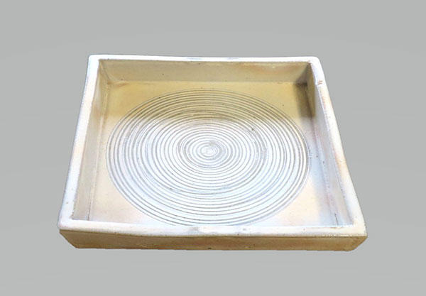 No.10 陶芸 角皿作り