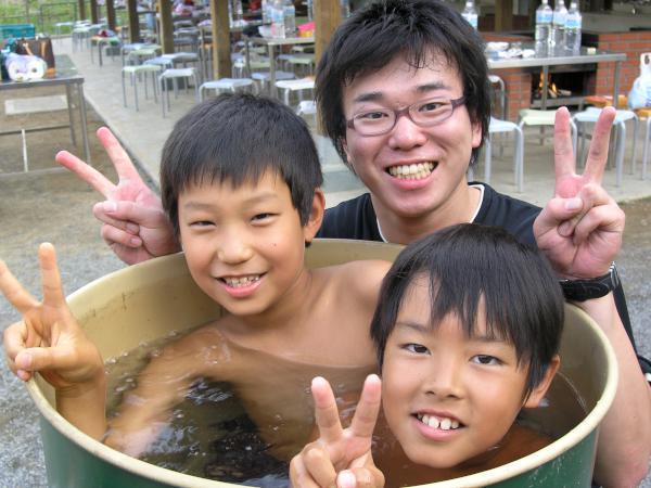 No.45 ドラム缶風呂 ※5月1日~9月30日限定(提供時間11時~14時)